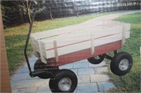 NEW METAL CHILDS WAGON IN BOX