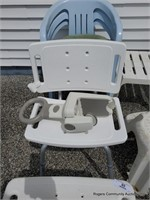 Plastic Lawn Chairs & Handicap Equipment