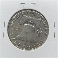 1961-D FRANKLIN SILVER HALF DOLLAR
