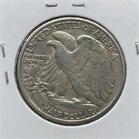 1946-D WALKING LIBERTY SILVER HALF DOLLAR
