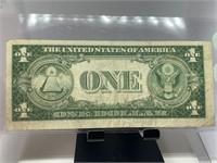 1935-F $1 SILVER CERTIFICATE NOTE