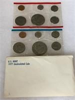 1977 UNC COIN SET