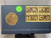 AMERICAN REVOLUTION BICENTENNIAL 1ST DAY COVER