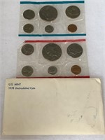 1978 UNC COIN SET