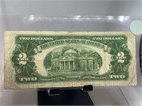 1928 G $2 RED SEAL CURRENCY NOTE