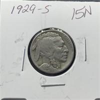 1929-S BUFFALO NICKEL
