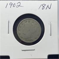 1902 BUFFALO NICKEL