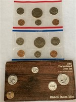 1985 UNC COIN SET