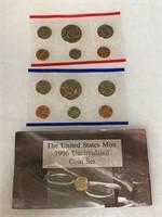 1996 UNC COIN SET