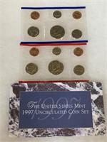 1997 UNC COIN SET