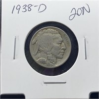 1938-D BUFFALO NICKEL