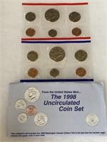 1998 UNC COIN SET