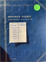 BUFFALO NICKEL COLLECTORS ALBUM