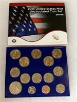 2013 UNC COIN SET