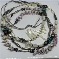 LOT OF MISC NECKLACES