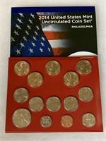 2014 UNC COIN SET
