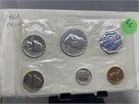 1960 PROOF SILVER COIN SET