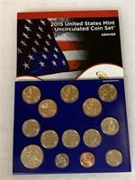 2015 UNC COIN SET