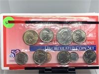2002 D UNC COIN SET
