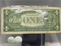 1957A $1 SILVER CERTIFICATE NOTE