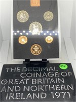1971 GREAT BRITAIN & N. IRELAND PROOF COIN SET