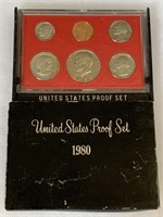 1980 PROOF COIN SET