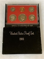 1981 PROOF COIN SET