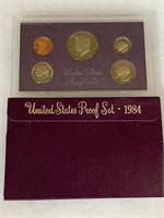 1984 PROOF COIN SET