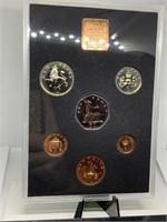 1971 GREAT BRITAIN & N. IRELAND COIN SET