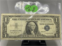 1957-B $1 SILVER CERTIFICATE NOTE