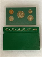 1996 PROOF COIN SET