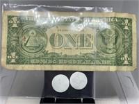 1957-A $1 SILVER CERTIFICATE NOTE