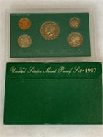 1997 PROOF COIN SET