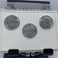 P D S STEEL WHEAT PENNY COIN SET