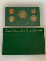 1998 PROOF COIN SET