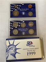 1999 PROOF COIN SET