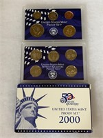 2000 PROOF COIN SET