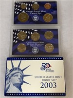 2003 PROOF COIN SET