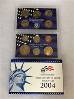 2004 PROOF COIN SET