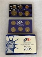 2005 PROOF COIN SET