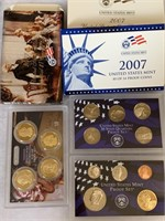 2007 PROOF COIN SET