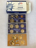 2008 PROOF COIN SET