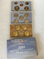 2010 PROOF COIN SET