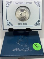 1982 UNC COMM WASHINGTON HALF DOLLAR
