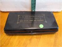 Vintage C.F. Higinbotham Hastings, Nebr. Metal