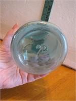 Antique Mason's Patent Nov 30th 1858 Aqua Qt Jar