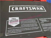 New Craftsman 121pc Gunmetal Chrome tool set (red)