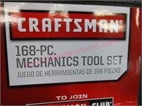New Craftsman 168pc mechanics tool set - nice