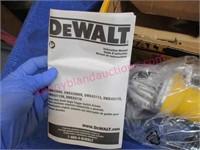 New DeWalt 6-in angle grinder in box - nice