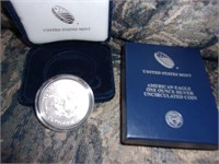 American Eagle one ounce (uncirculated)